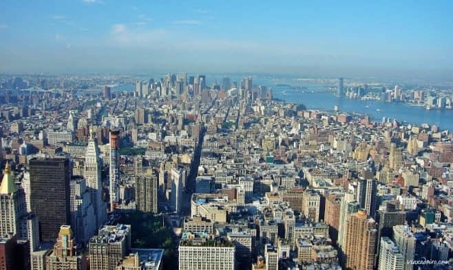 mejores vistas desde arriba Nueva york