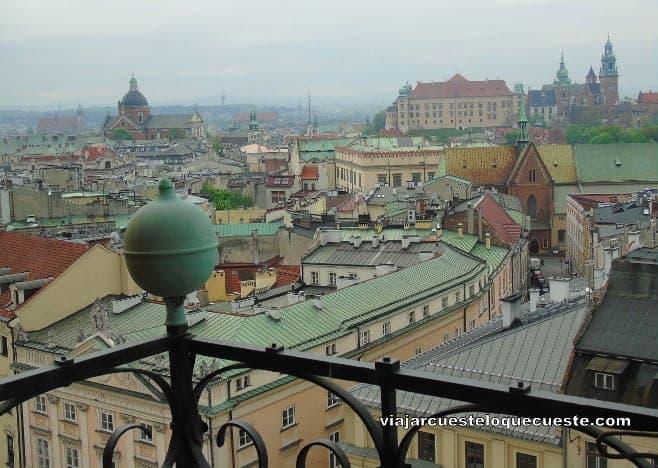 mejor vistas desde arriba Cracovia