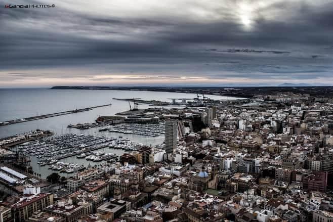 mejores vistas desde arriba Alicante