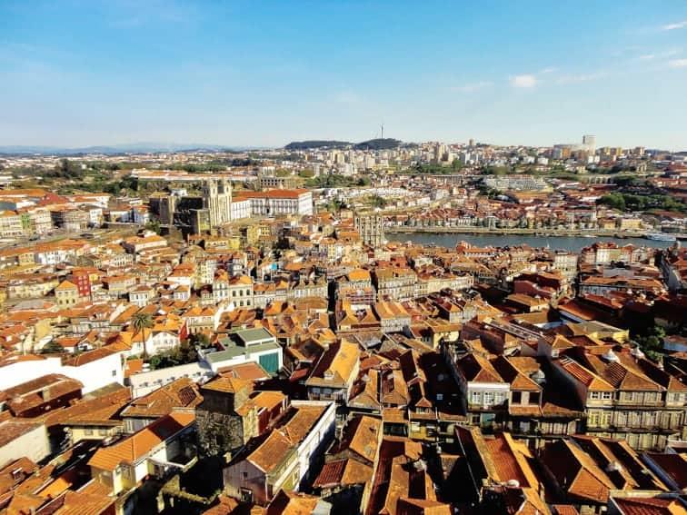 mejores vistas desde arriba Oporto