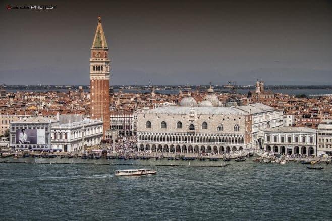 mejores vistas desde arriba Venecia