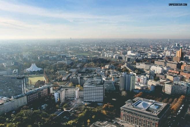 mejores vistas desde arriba Berlin