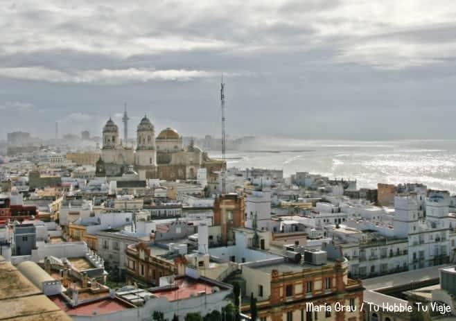 mejores vistas desde arriba Cadiz