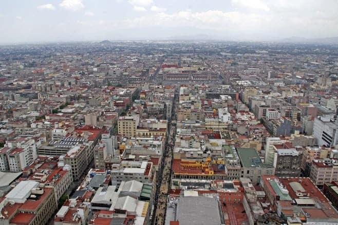mejores vistas desde arriba México