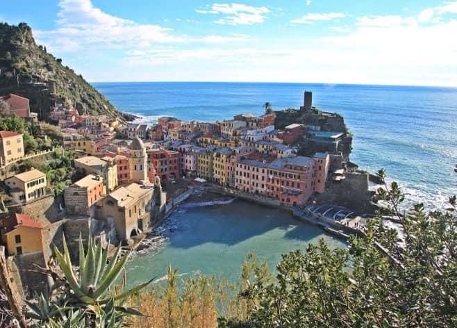 mejores vistas desde arriba Cinqueterre