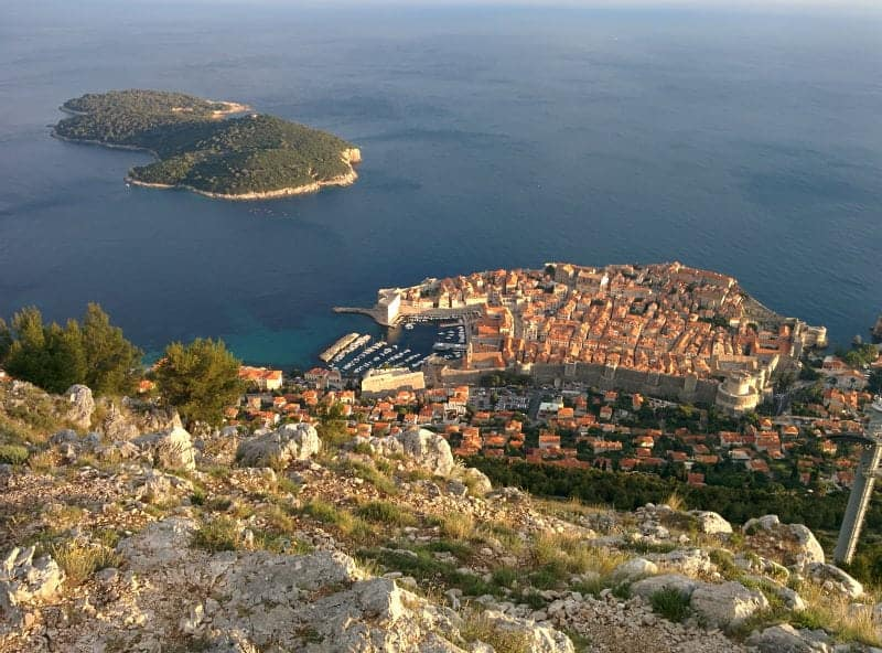 mejores vistas desde arriba Dubrovnik