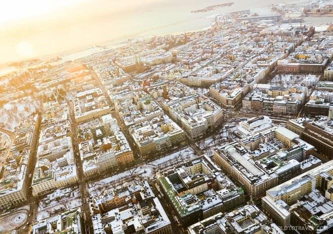 mejores vistas desde arriba Helsinki