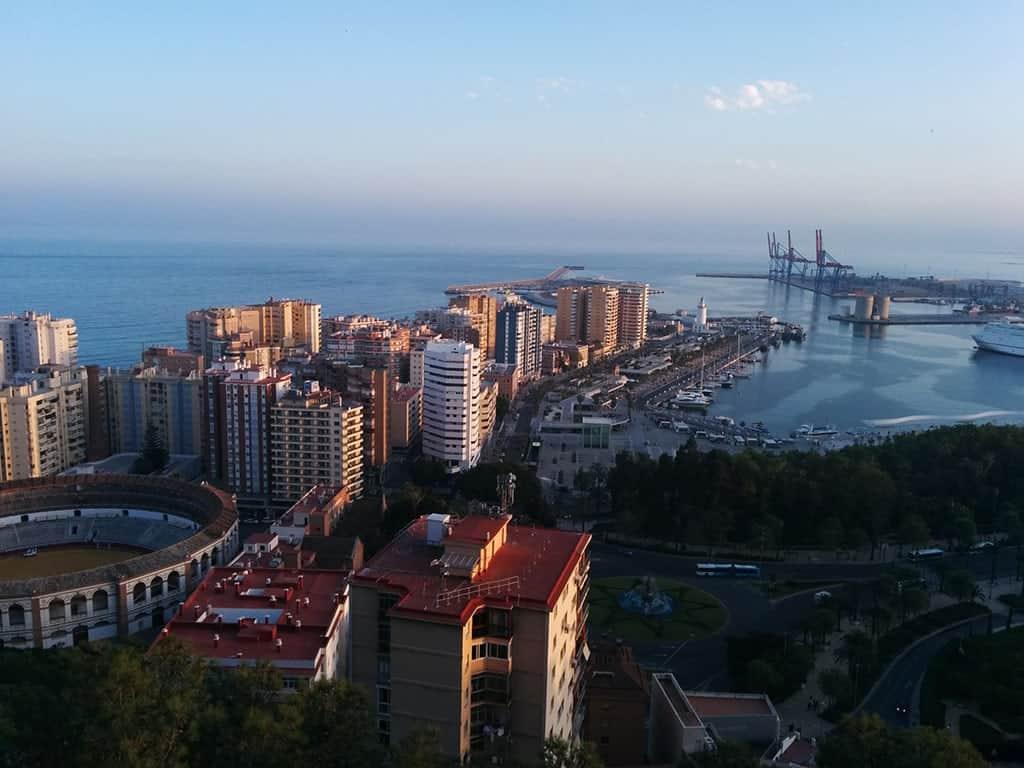mejores vistas desde arriba Málaga