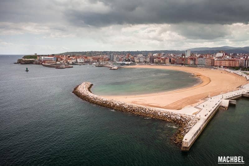mejores vistas desde arriba Gijón
