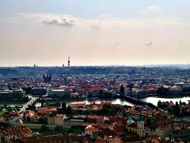 mejores vistas desde arriba Praga