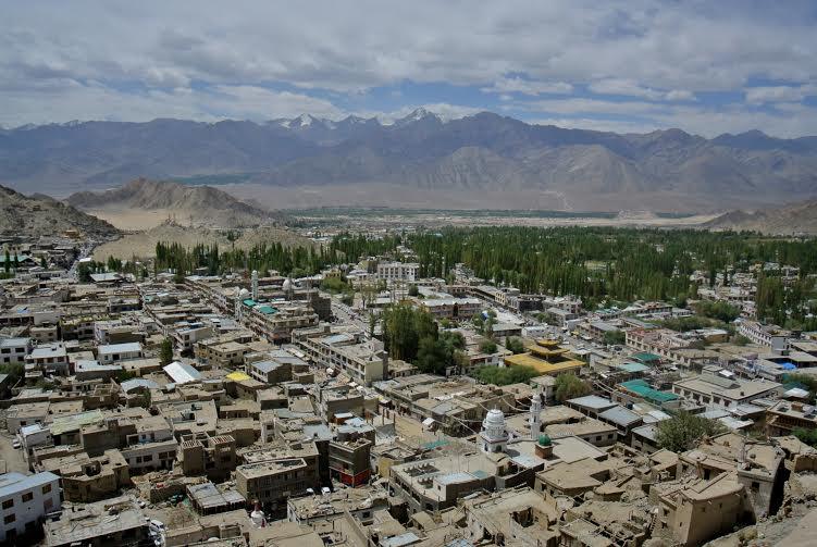 mejores vistas desde arriba ciudad de Leh