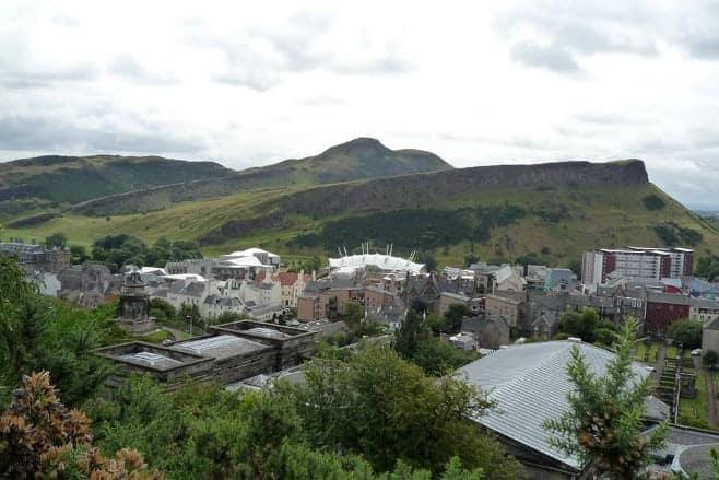 mejores vistas desde arriba Edimburgo