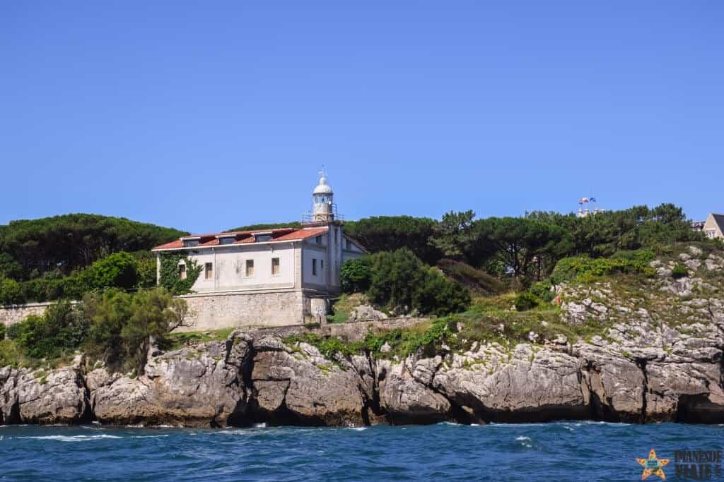 ruta costa de Cantabria faro Palacio de la Magdalena