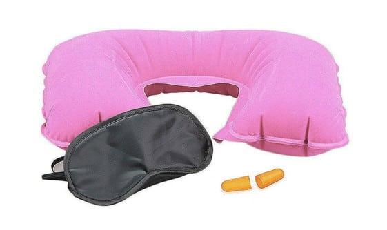 mejroes regalos viajeros kit antifaz y almohada