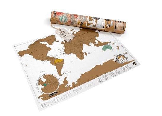mejroes regalos viajeros mapa de rascar