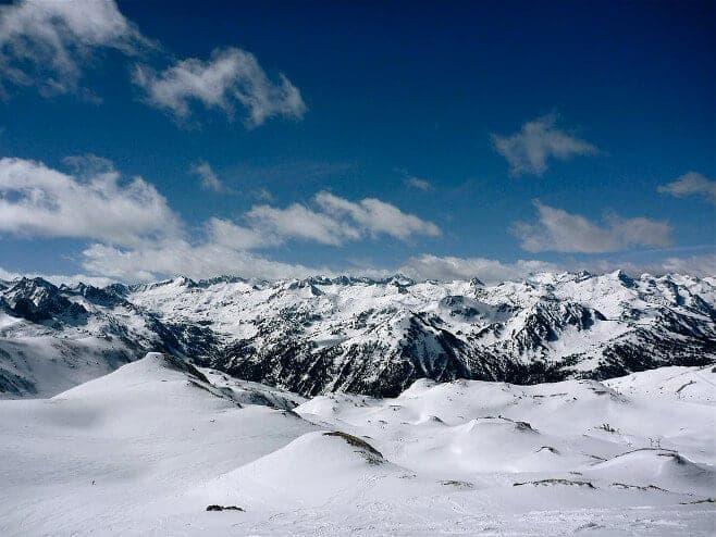 mejores pistas de esqui en España y Andorra Baquiera