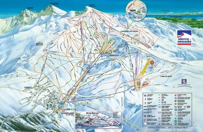 mejores pistas de esqui en España y Andorra Sierra Nevada 2