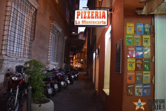 mejores restaurantes donde comer pizza roma 3