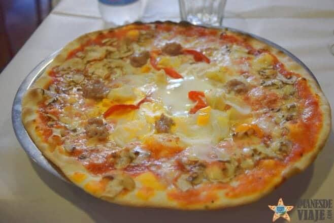 mejores restaurantes donde comer pizza roma