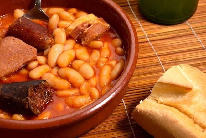 platos tipicos de espana por comunidades fabada