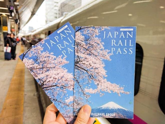 como moverse por Japón