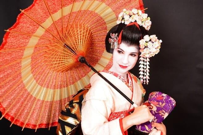 vestirse de geisha en kioto