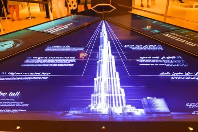 visitar el Burj Khalifa en Dubai