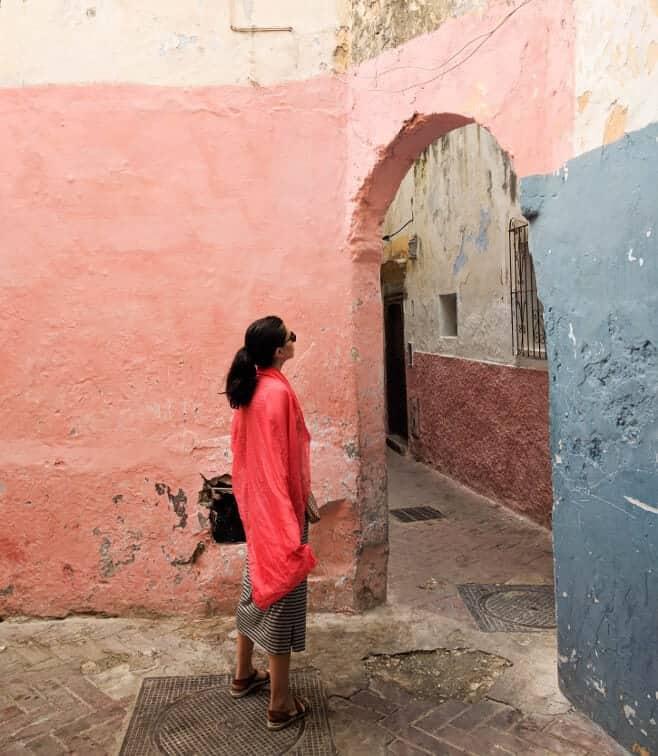 mujer sola en Marruecos