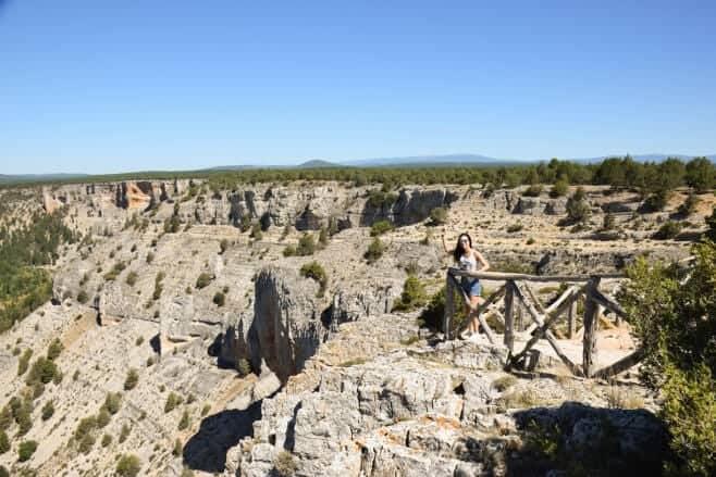 visitar cañón del río lobos soria