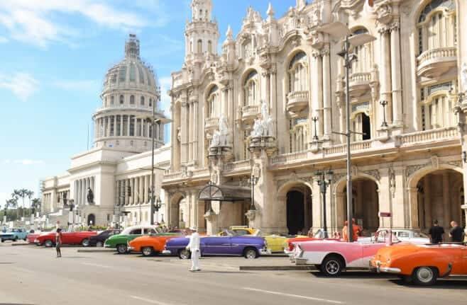 como moverse por Cuba