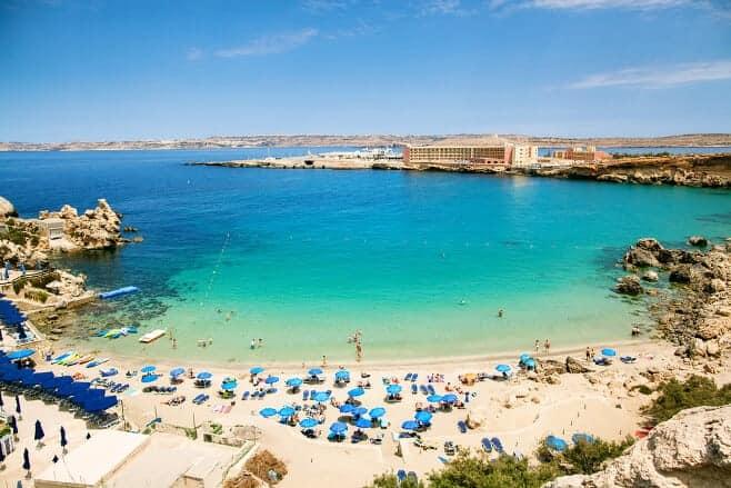 mejores playas de Malta