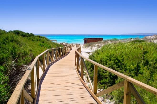 mejores playas de formentera
