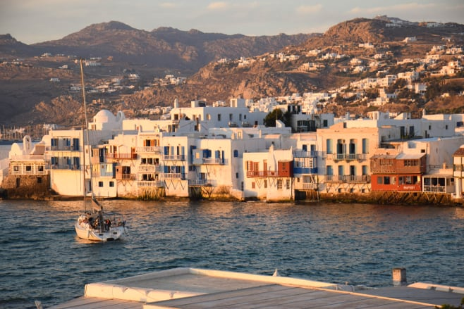 ruta por las islas griegas en una semana