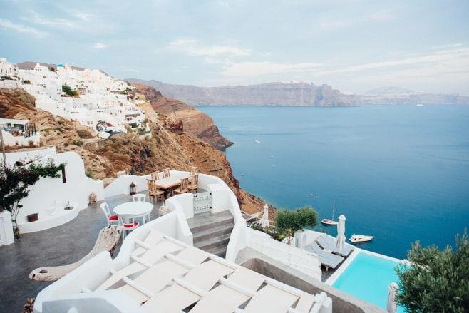 mejores hoteles en Santorini
