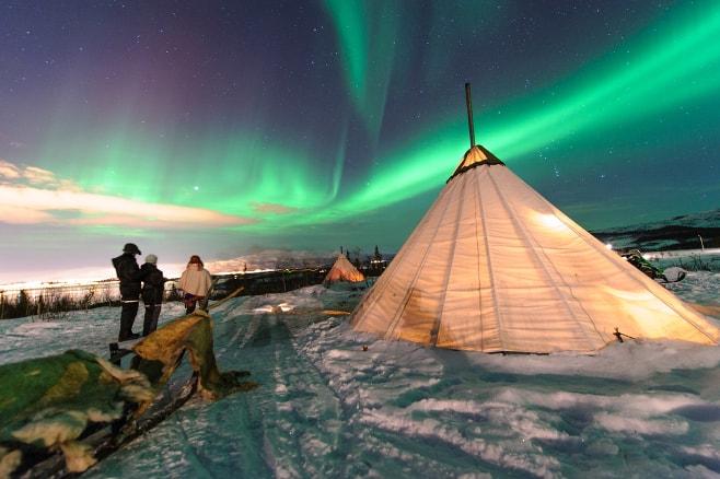 Ver auroras boreales en Noruega: consejos para tener éxito