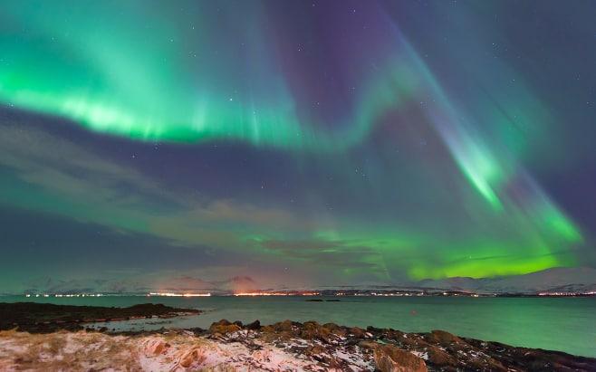 ver auroras boreales en noruega