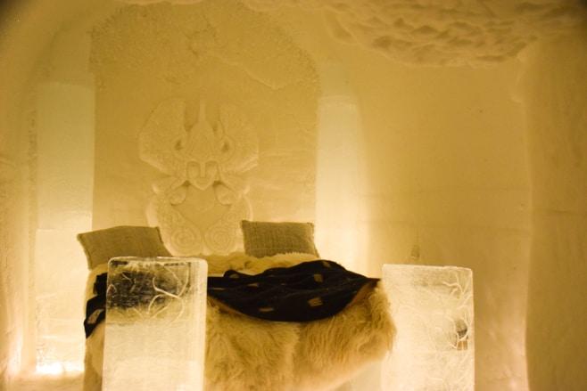 dormir en un hotel de hielo noruega
