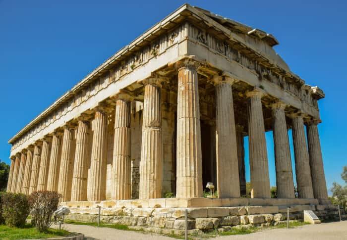 Que ver en Atenas: Templo de Hefestión