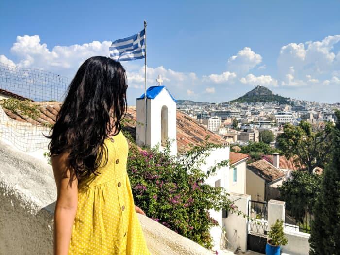 Que ver en Atenas: Barrio de Anafiotika