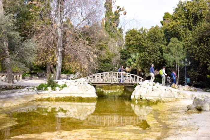 Que ver en Atenas: Jardines Nacionales