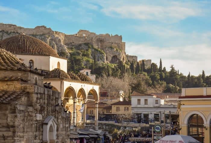 Que ver en Atenas: Barrio de Monasteriaki