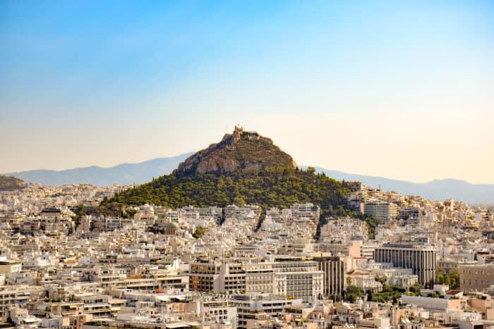 Que ver en Atenas: Monte Licabeto