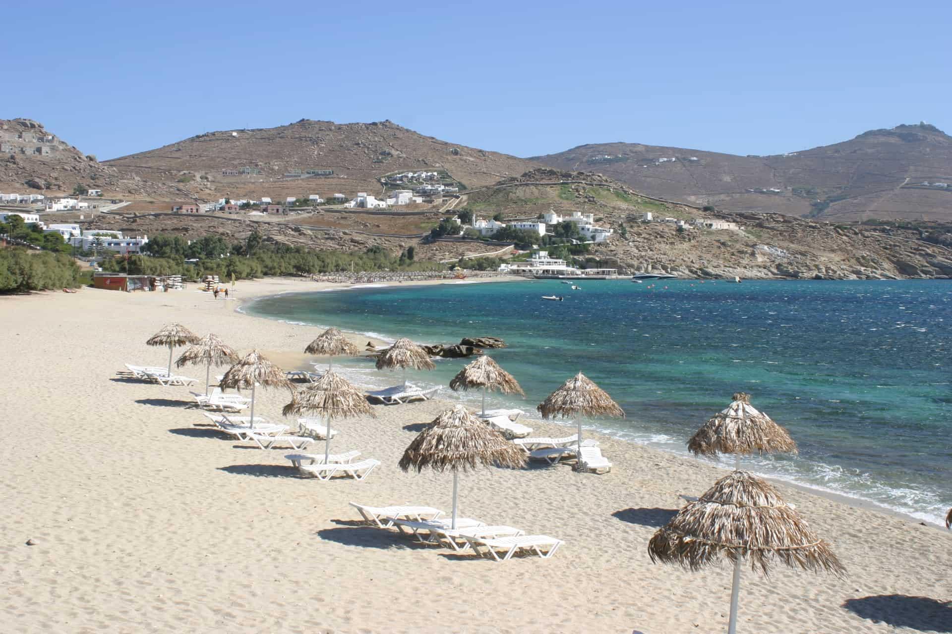 mejores playas de mykonos