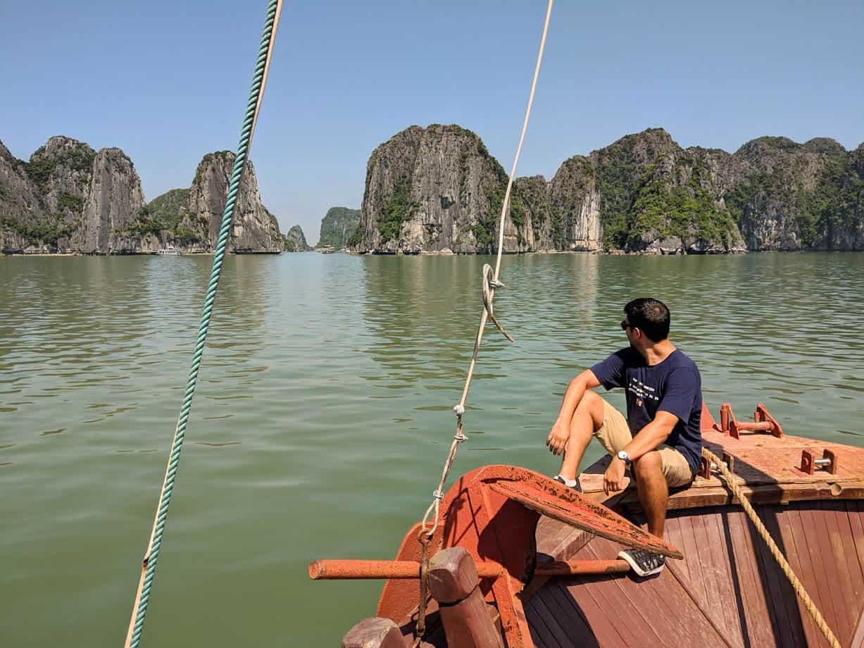 crucero por la bahia de halong