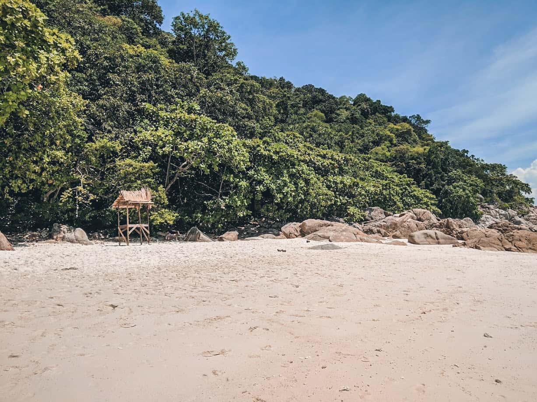 las mejores playas de las islas perhentian