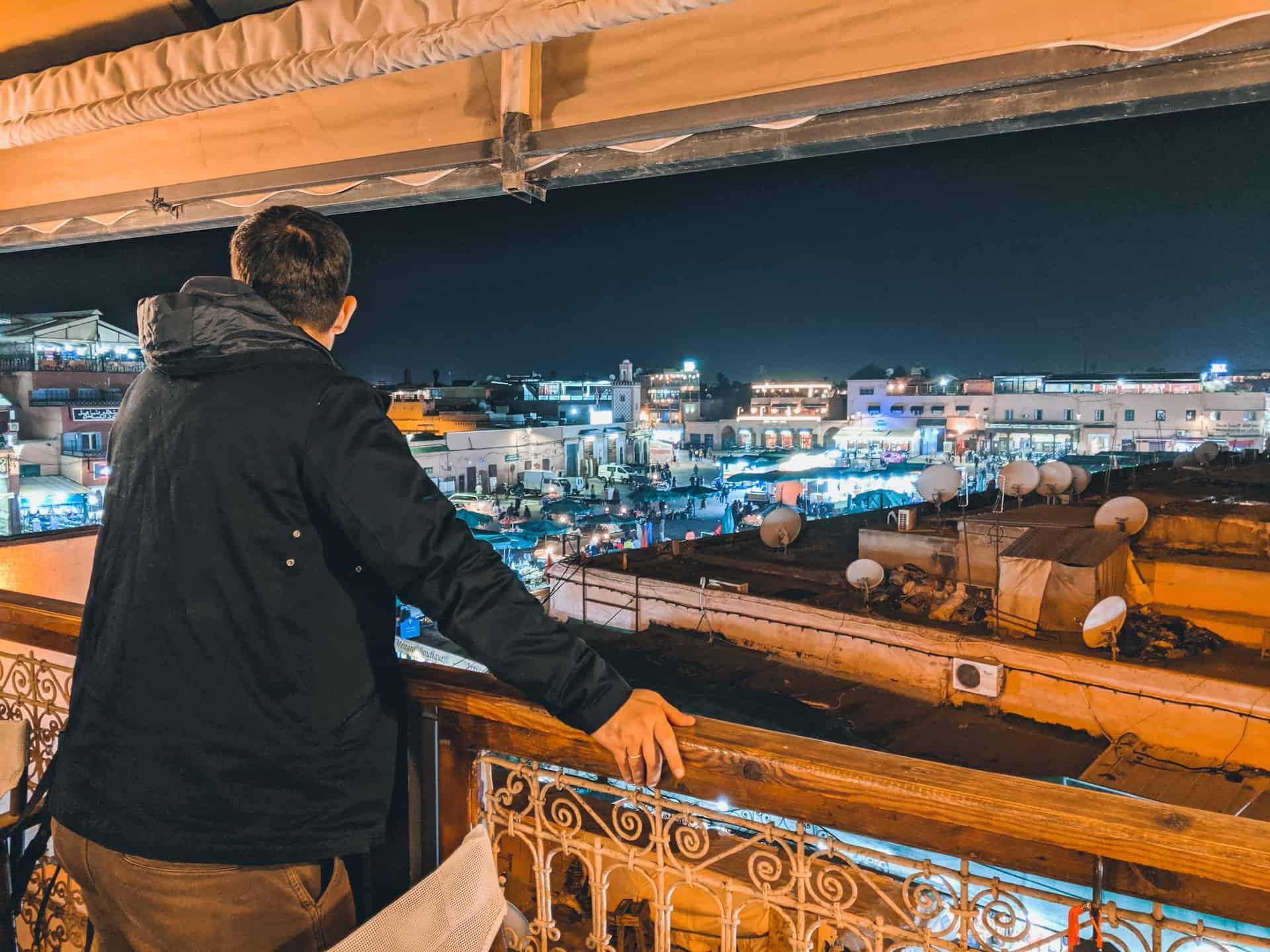 donde comer en Marrakech azoteas y restaurantes