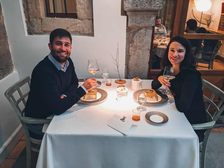 restaurante el cenador de amos cantabria