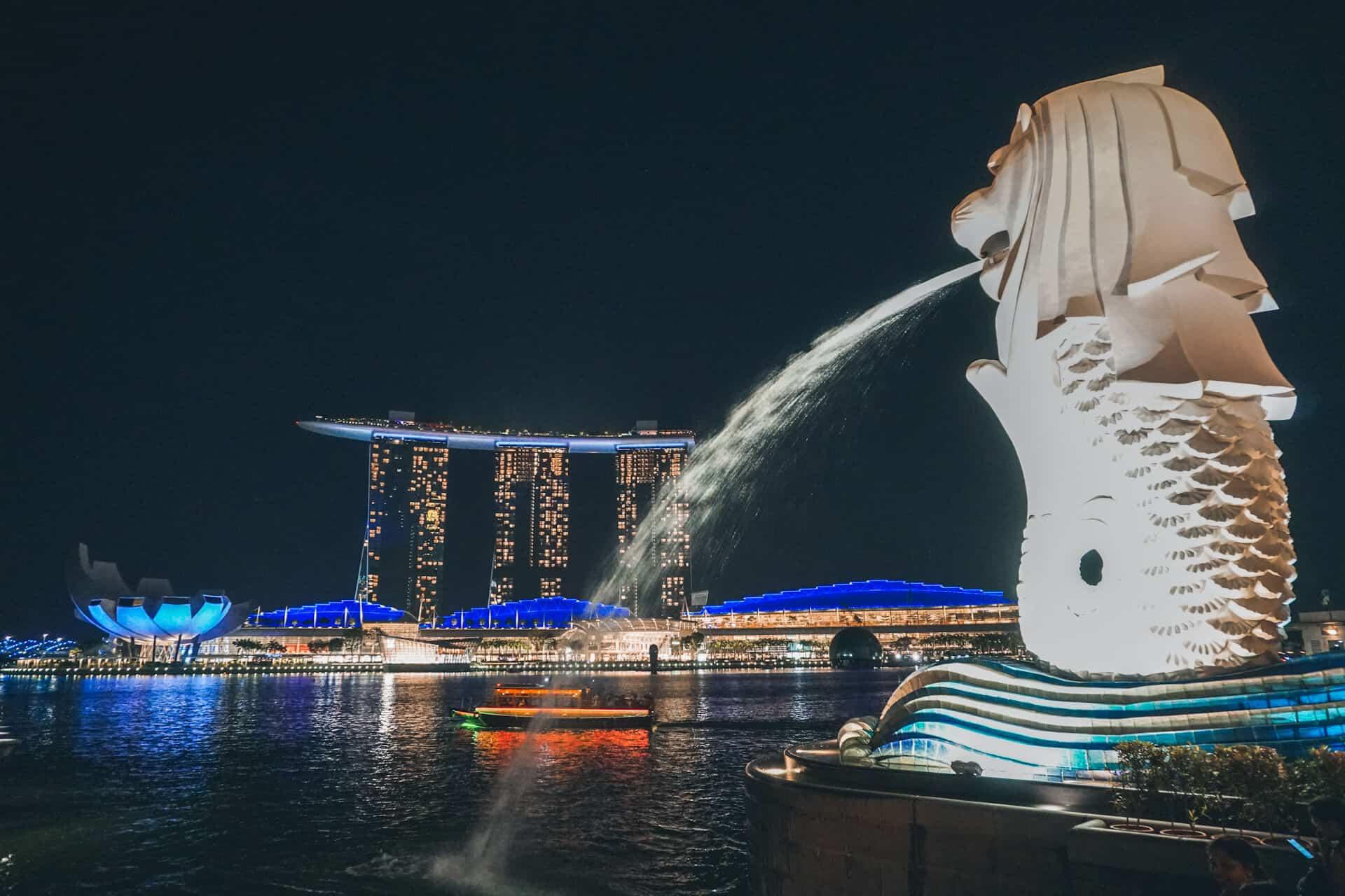 luna de miel asia singapur