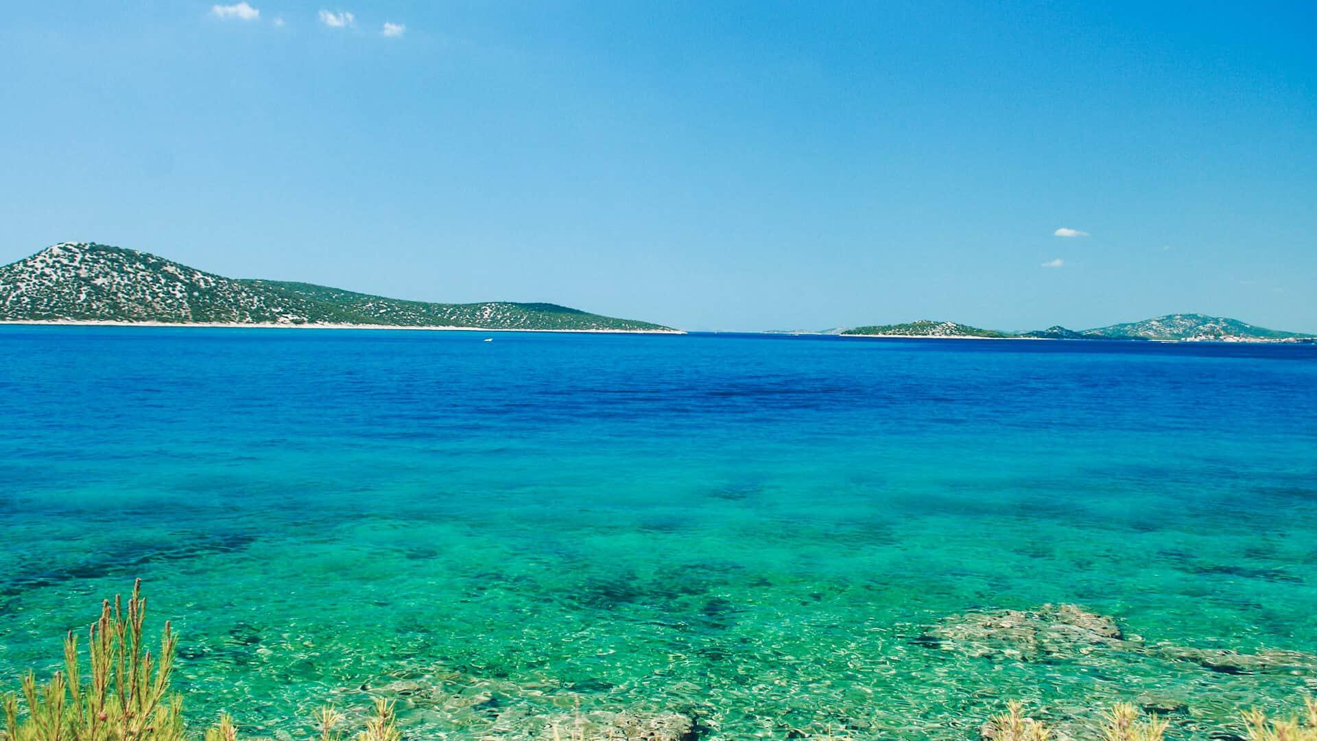 mejores playas de Croacia Kornati