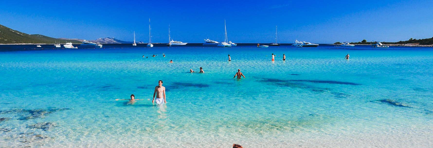 mejores playas de croacia sakarun